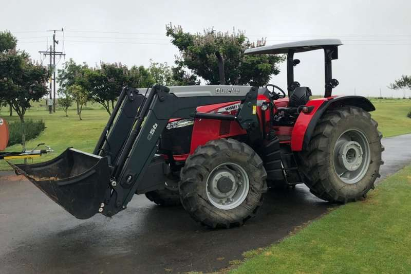 Massey Ferguson Tractors 4WD Tractors 5709 4wd Power Shuttle Demo with Loader 2019