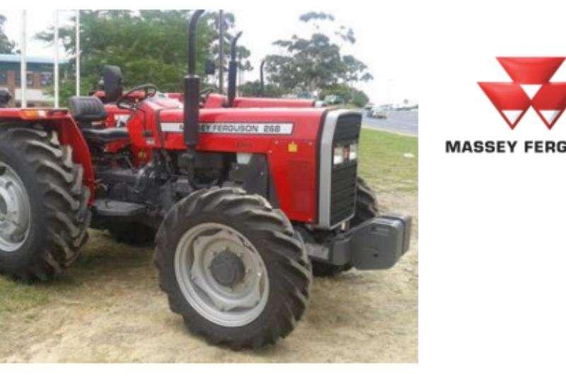 Massey Ferguson Tractors 4WD tractors Massey Ferguson 268 Xtra 47 KW 4 Wheel Drive 2020
