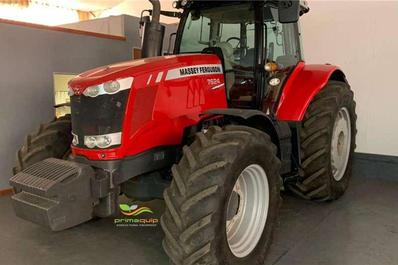 Massey Ferguson Tractors 4WD tractors Massey Ferguson 7624 2018