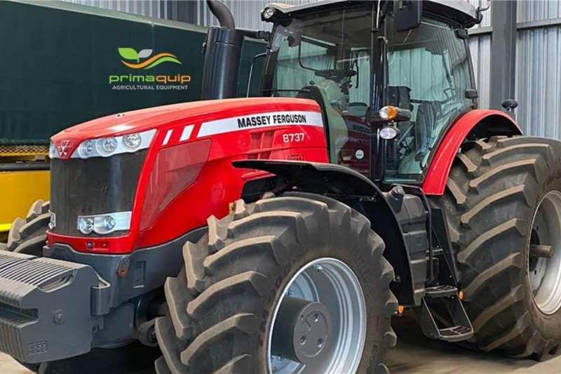 Massey Ferguson Tractors 4WD tractors Massey Ferguson 8737 2019