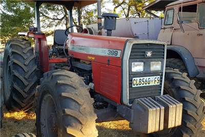 Massey Ferguson Four wheel drive tractors 399 with papers Tractors