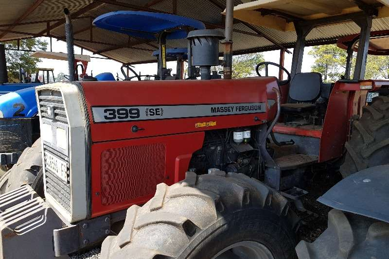 Massey Ferguson Tractors Four wheel drive tractors 399 with papers