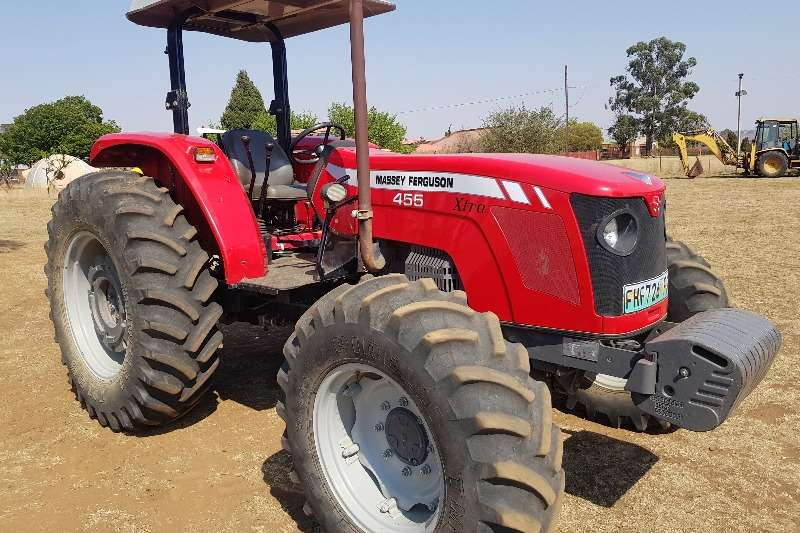 Massey Ferguson Tractors Four wheel drive tractors 455 2013