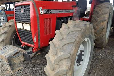 Massey Ferguson Four wheel drive tractors 460 with papers Tractors