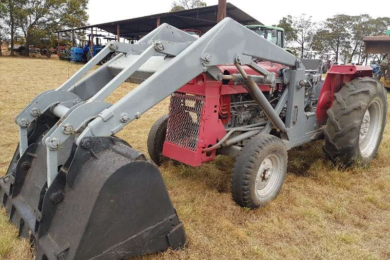 Massey Ferguson Tractors Grape harvesters MF 50 tractor with front loader