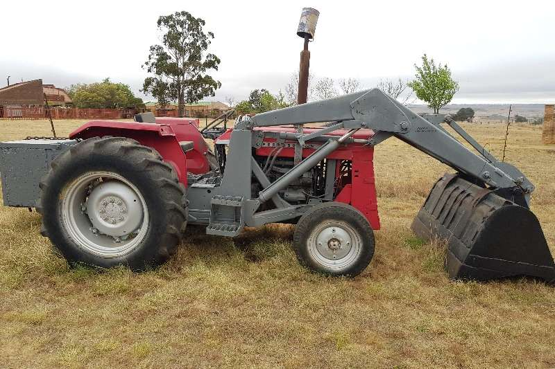 Massey Ferguson Grape harvesters MF 50 tractor with front loader Tractors