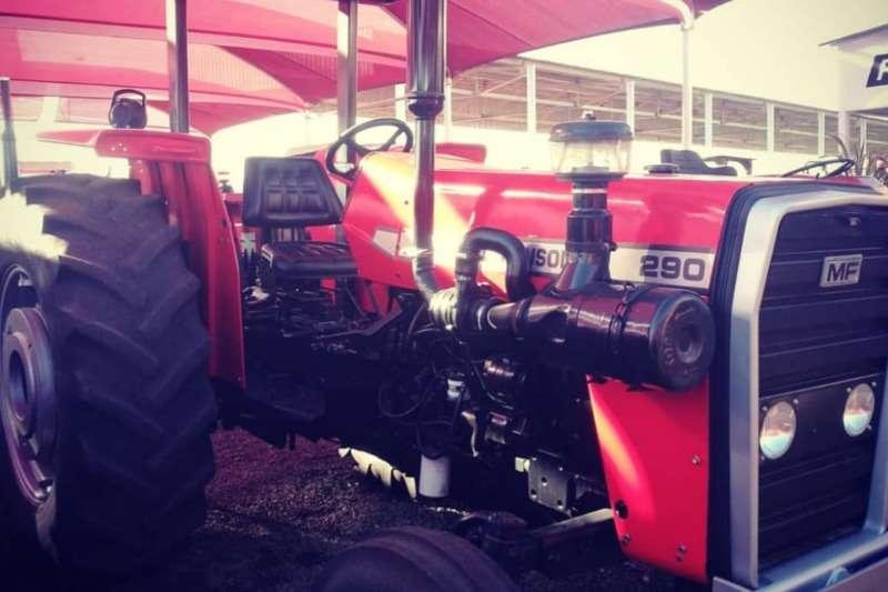 Massey Ferguson Tractors Massey Ferguson 290 + 3 disc pipe plough