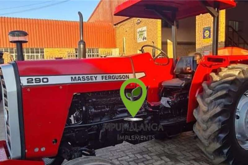 Massey Ferguson MF290   80HP/59.7KW   Fully Refurbished with roof Tractors