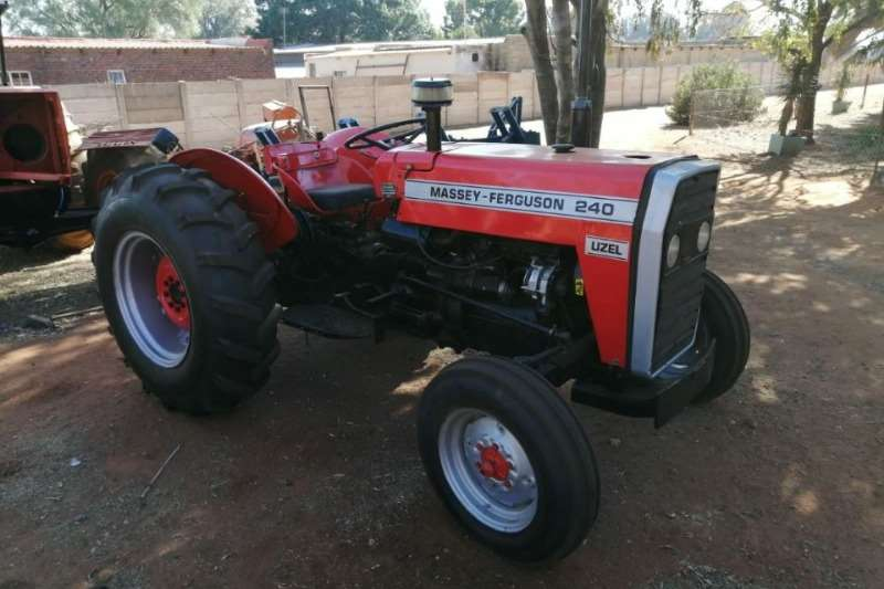 Massey Ferguson Tractors Two Wheel Drive Tractors 240
