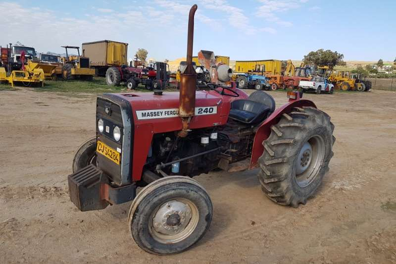 Massey Ferguson Tractors Two Wheel Drive Tractors MF 240 1993