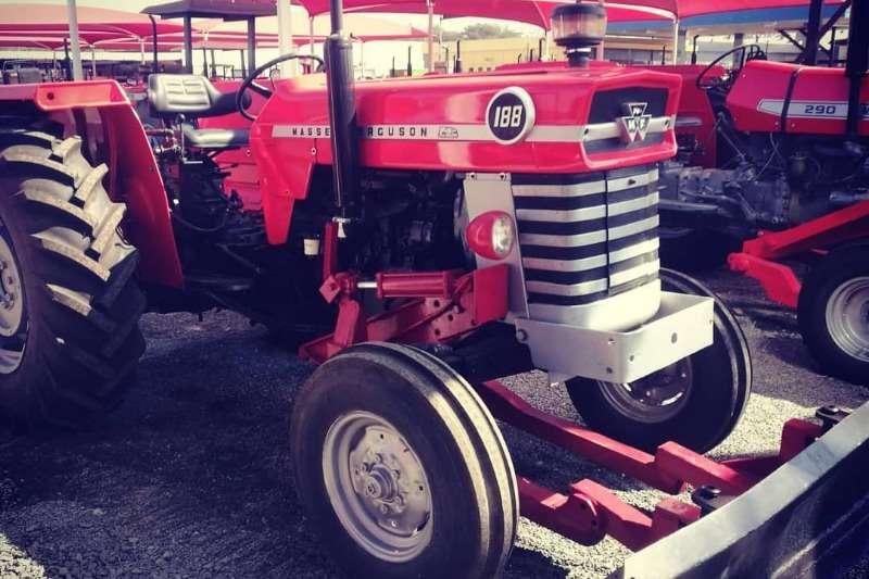 Massey Ferguson Tractors Two Wheel Drive Tractors Special MF 188 + Grader