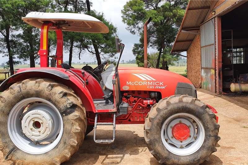 Mccormick 4WD tractors C85 Max Tractors