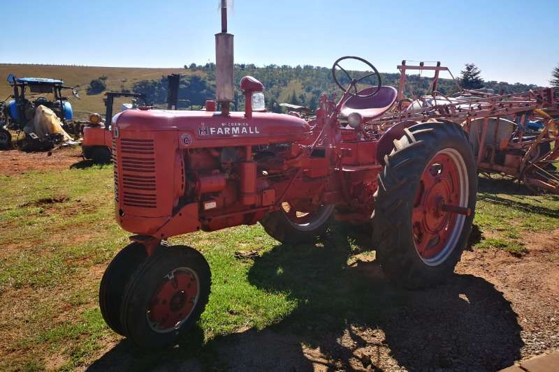 Mccormick Tractors Grape harvesters Mccormick Old Timer
