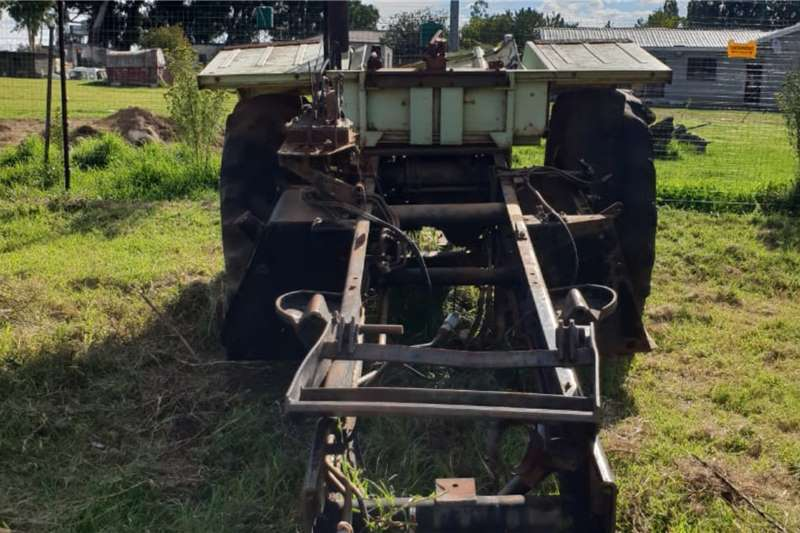 Mercedes Benz MB Trac 1100 Tractor Chassy & Rear Diff Tractors