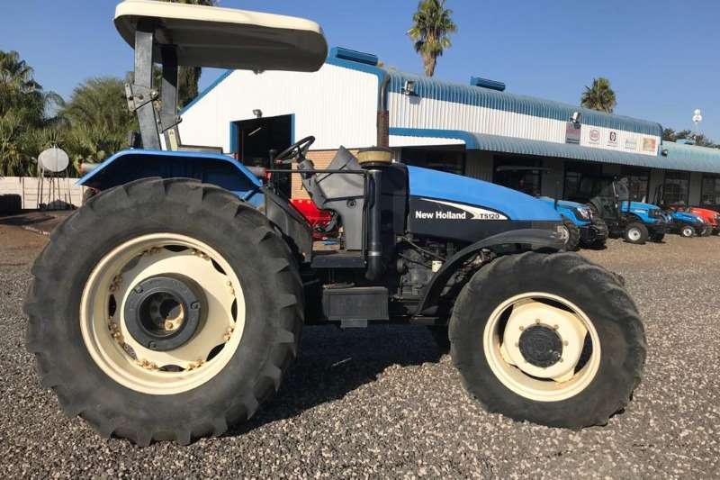 2007 New Holland  NEW HOLLAND TS120