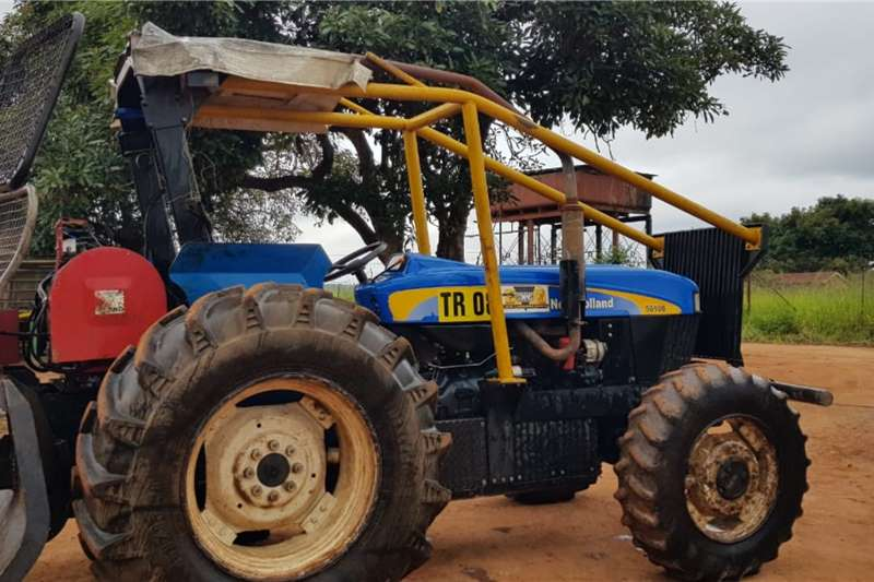 New Holland 4WD tractors New Holland 5610 DT with Igland Winch Tractors