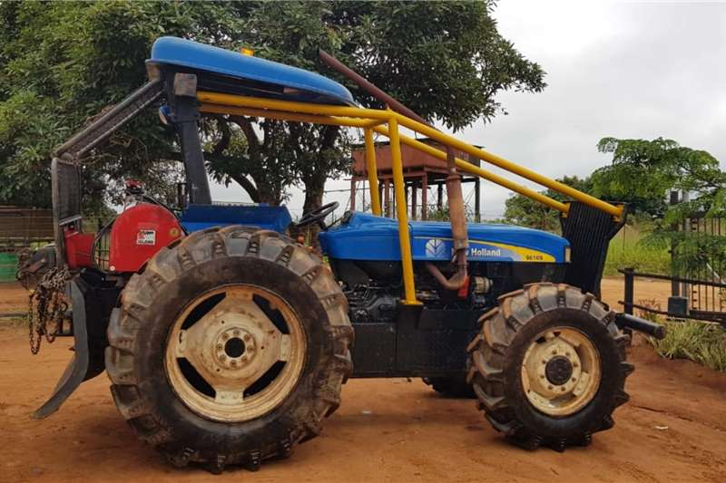 New Holland 4WD tractors New Holland 6610 DT with Igland Winch Tractors