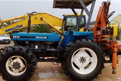 New Holland 4WD tractors New Hollland 6610 HIAB Tractors