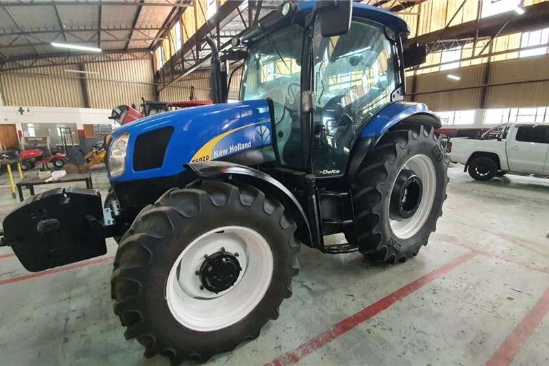 New Holland 4WD tractors T6020 CAB Tractors