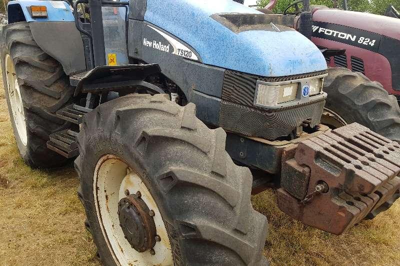 New Holland 4WD tractors TS120 Tractors