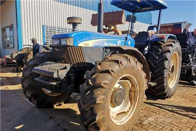 New Holland Tractors Four Wheel Drive Tractors New Holland 8030 2013