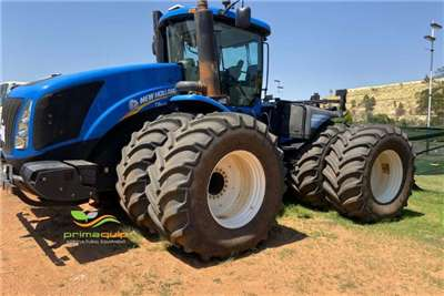 New Holland Tractors Four Wheel Drive Tractors New Holland T 9.670 2013
