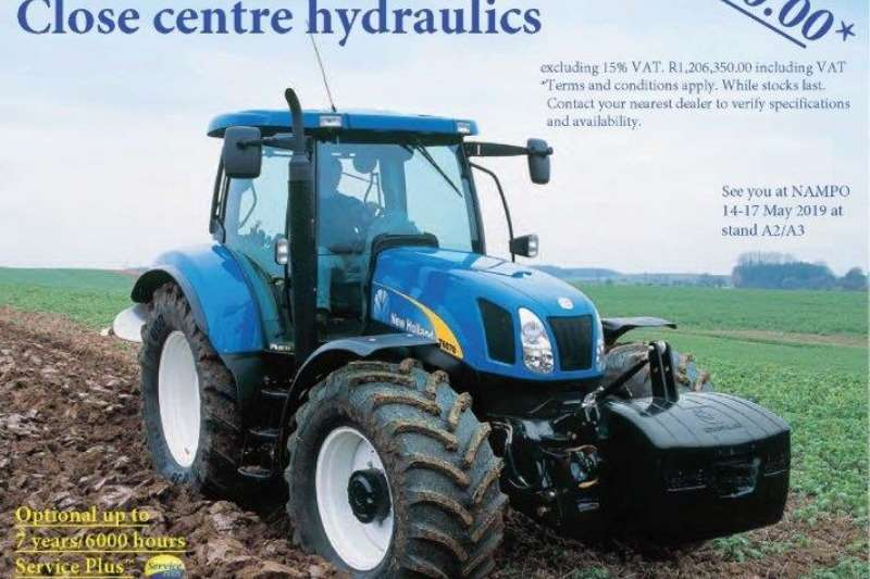 New Holland Tractors Four wheel drive tractors New Holland T6070