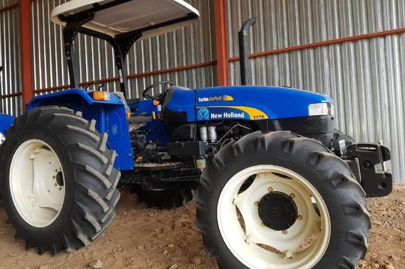 New Holland Tractors Four Wheel Drive Tractors New Holland TT 75 2018