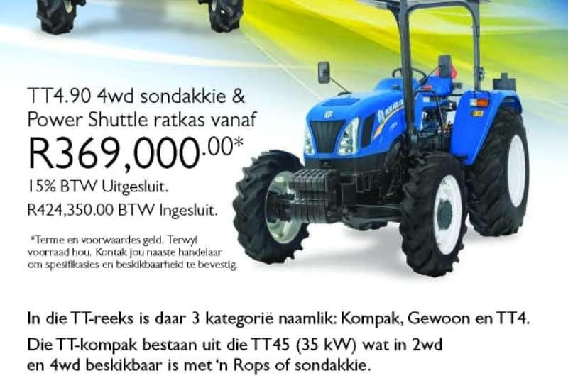 New Holland Tractors Four wheel drive tractors TT4.90 2020