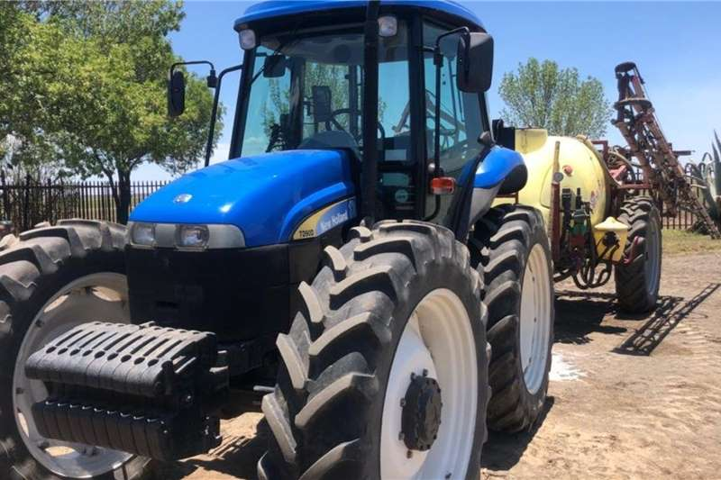 New Holland Tractors Grape harvesters New Holland TD 90 HC + Hardi Ranger 2011