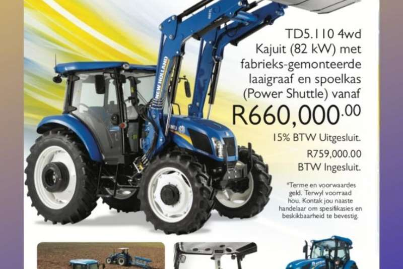 New Holland Tractors Other tractors TT55, TT75, TD90, TD5 110 2020