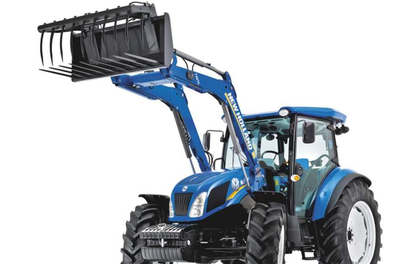 New Holland Tractors TD5.90 4x4 CAB with Front End Loader 2020