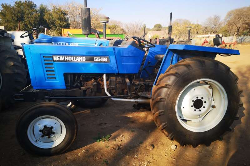 New Holland Tractors Two wheel drive tractors New Holland55 56 1990