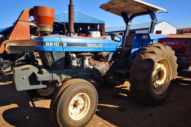 New Holland Tractors Two Wheel Drive Tractors New Holland 6610 2WD