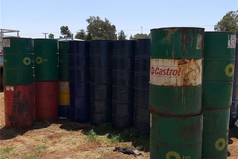 Oil Drums 210 liter OIL