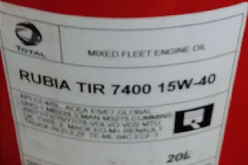 Total Rubia oil OIL