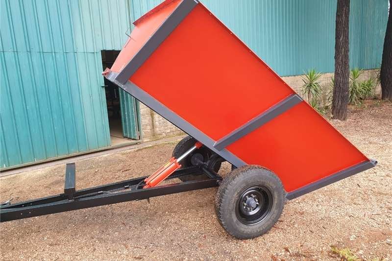 1.5m Falcon slasher & 2.5 Ton Tipper Trailer Other