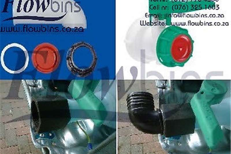 1000L Flowbin tank Spares, Adaptors, Piping and Fi Other