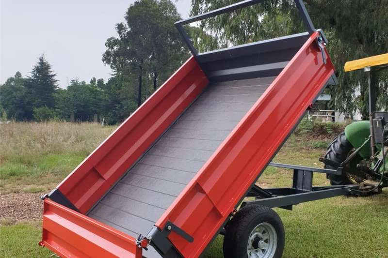2 Ton Tip Trailer 2.5x1.8m 450mm Drop sides Other
