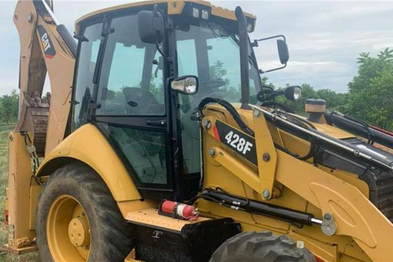 2014 Cat 428F TLB with pallet forks Other