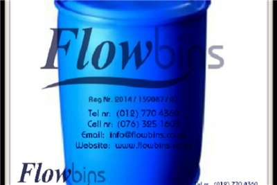 210Lt Blow Pack Plastic drums / Blue round drums Other