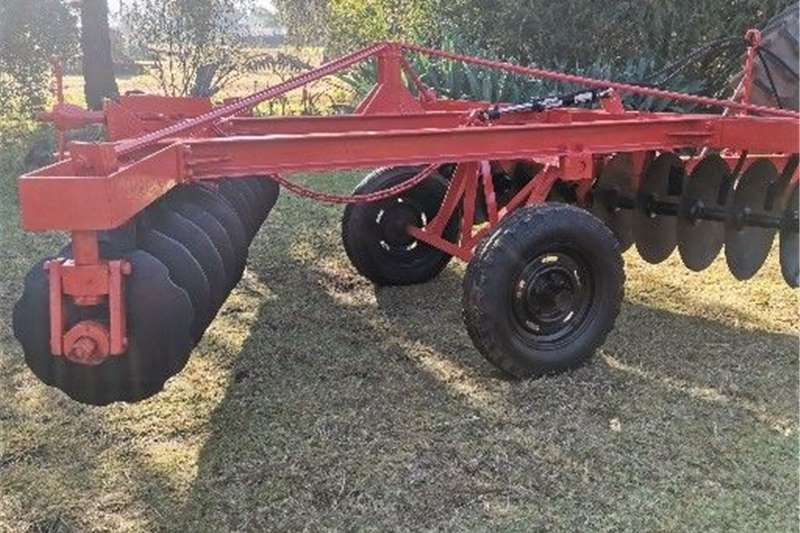 24 Disc hydraulic plough USED Other