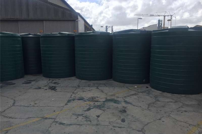 Other 5000 L water tanks available