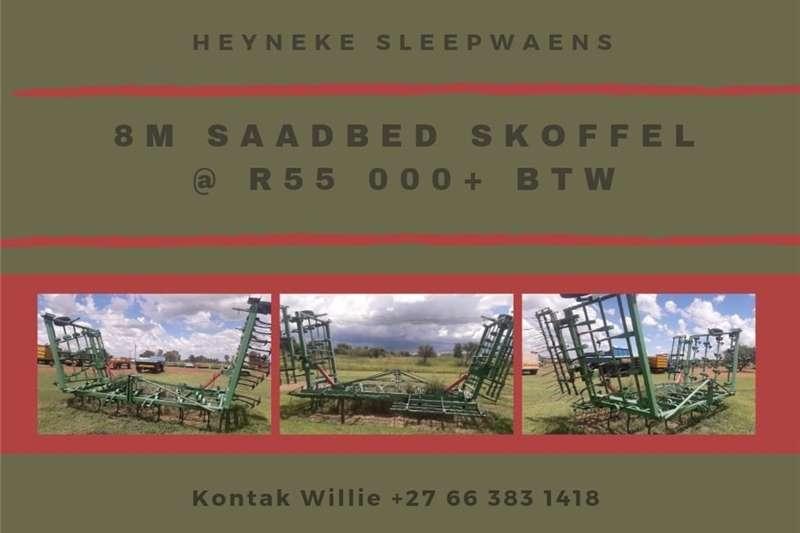 8m SAADBED SKOFFEL / SEEDBED TILLER Other