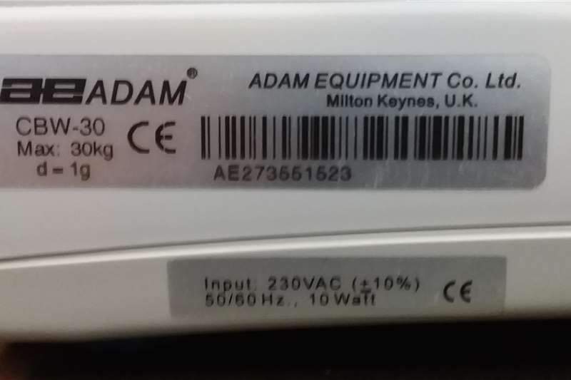 Adam CBW 30 bench scale. Other