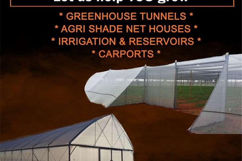 AGRICULTURAL SHADE NET AND GREENHOUSE Other