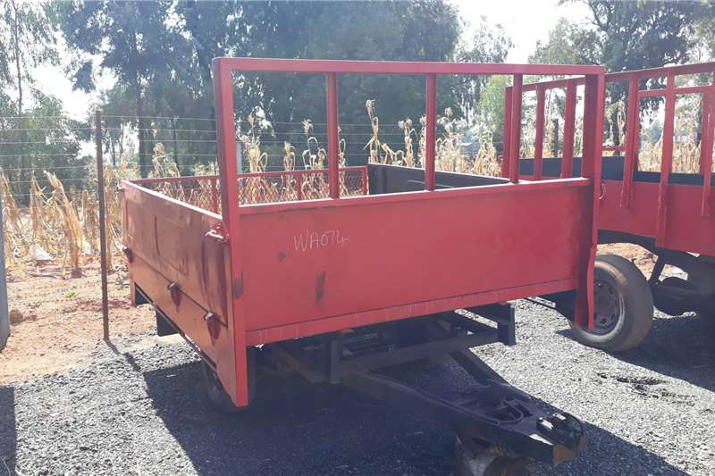 Other 2 Wheel Trailer + Drop sides Agricultural trailers