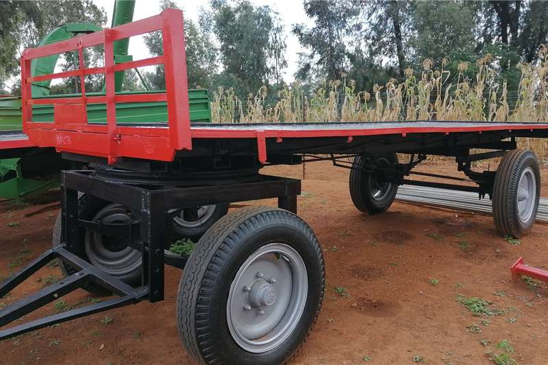 Other 4 Wheel Wagon Agricultural trailers