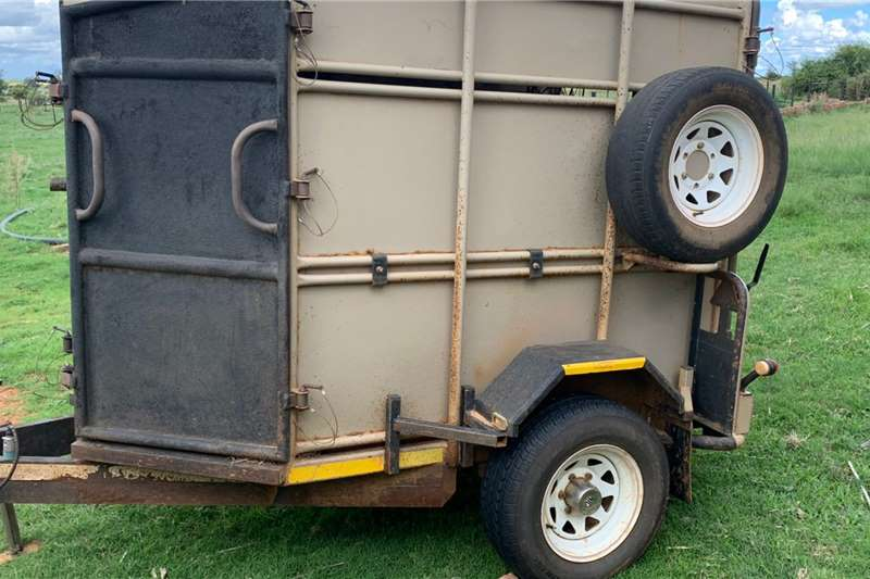Other Game trailers Alro Box Body Wildswaentjie Agricultural trailers