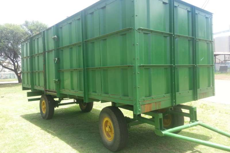 Other Agricultural trailers Grain trailers 10 TON MASSA WA TEKOOP 2006